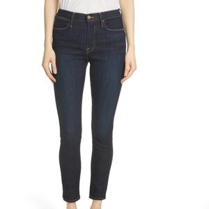 Frame Le High Ankle Skinny Jeans